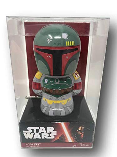 Bundle: Star Wars Boba Fett and Chewbacca Tin Wind-Up Toys