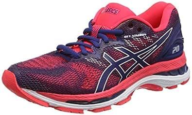 Asics Womens Gel-Nimbus 20 Road Running Shoes, Blue (Blue Print/Blue Print),6 US,37 EU