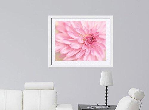 Flower Photography, Modern Art, Fine Art Photography, Pastel Pink Bedroom Wall Art, Macro Photography, Pink Floral Decor, Living Room Wall Decor, Baby Girl Nursery Wall Art Print