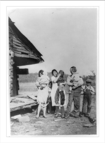 (Historic Print (L): [Typical farm family aided by Amer. Red Cross during Drou...)