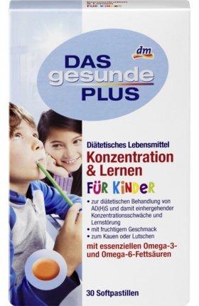 Das Gesunde Plus Konzentration Lernen Für Kinder Softpastillen 1