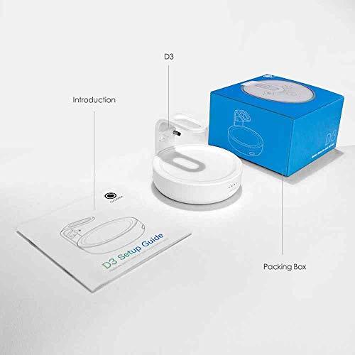 Base de bateria GGMM D3 para Dot 3ª geração, acessórios de alto-falante portátil inteligente com 7 horas de reprodução…