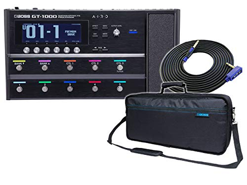 BOSS (ボス) ギター マルチエフェクター GT-1000 Guitar Effects Processor + 純正キャリングバッグ CB-ME80 + VOX VGS-30 セット   B07G3X5W96