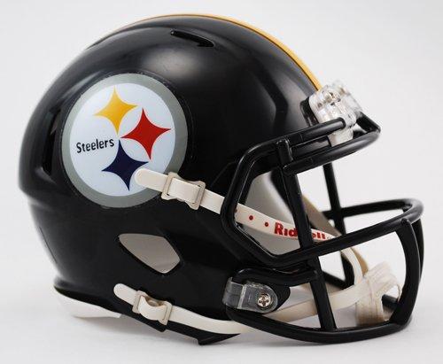 Riddell Mini Football Helmet - NFL Speed Pittsburgh Steelers - Nfl Football Helmet Design