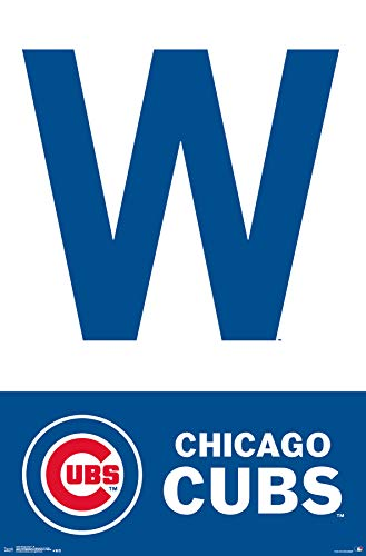 - Trends International Chicago Cubs - W Wall Poster 22.375