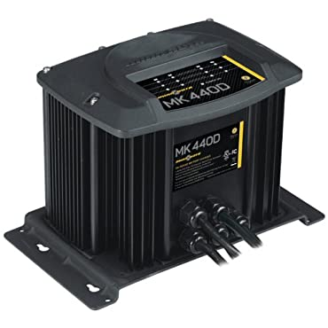 MinnKota MK 440D On-Board Battery Charger (4 Banks, 10 Amps Per Bank)