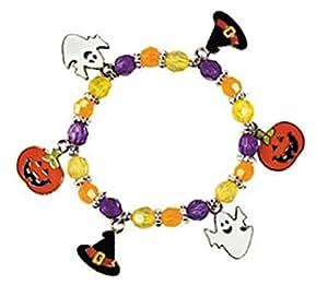 12 kits - Metal Halloween Charm Bracelet Craft Kits