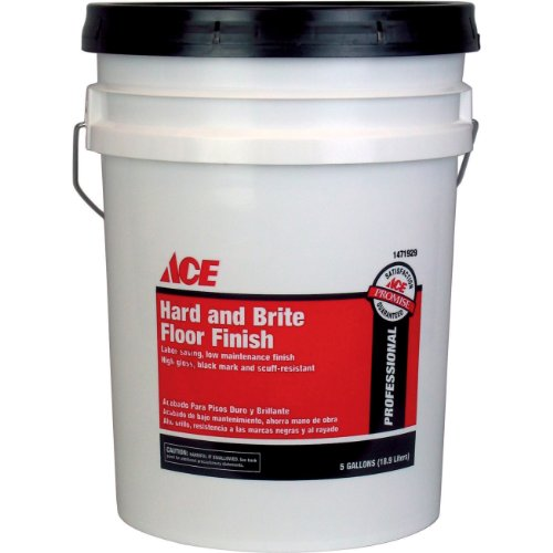 Ace 5 Gal Hard And Brite Floor Finish