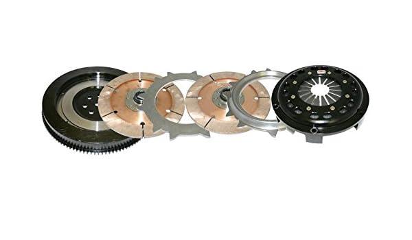 Competencia de placa de doble embrague embrague (Mitsubishi Evo 8/9) 4 - 5152-c: Amazon.es: Coche y moto
