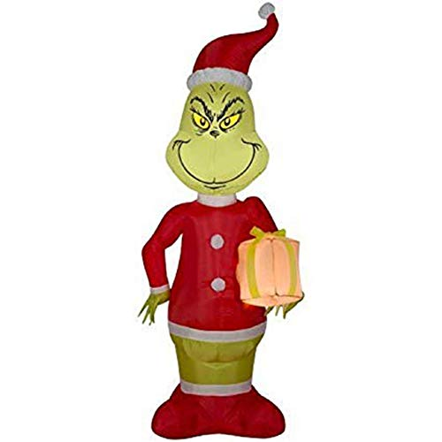 5.5 Foot Gemmy Airblown Inflatable Grinch - Dr. Suess -
