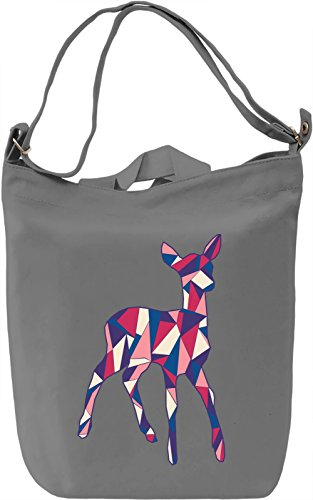 Geometric Roe Borsa Giornaliera Canvas Canvas Day Bag| 100% Premium Cotton Canvas| DTG Printing|