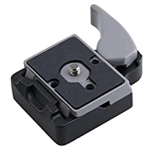 koolehaoda Camera Quick Release Adapter For Manfrotto Tripod 200PL-14 Compat Plate