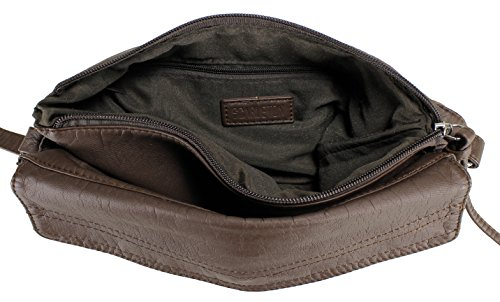 H1786 Scarleton Design Coffee Chic Bag V Crossbody Aw6qSw