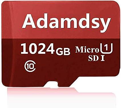 Adamdsy Tarjeta Micro SD de 1 TB, Tarjeta de Memoria Micro SDXC de ...