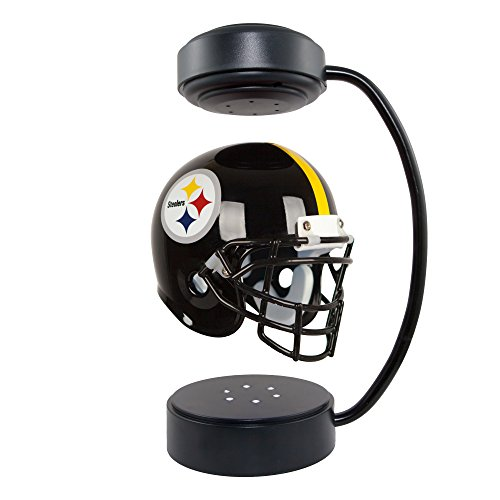 Pittsburgh Steelers Collectibles (Hover Helmets NFL Collectible Levitating Football Helmet with Electromagnetic Stand, Pittsburgh Steelers)