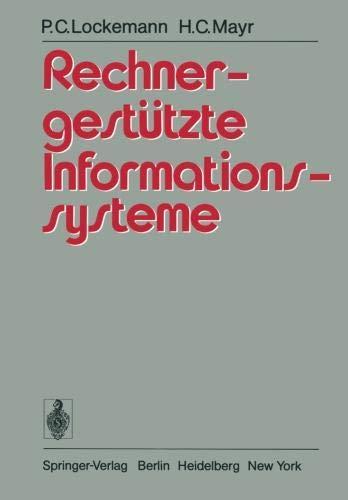 Rechnergestützte Informationssysteme (German Edition)