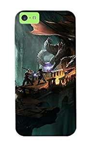 Forever Collectibles Mage Video Games Wings Caves Ruins Dragons Dogs Bridges Fantasy Art Artwork Warriors Drakensang Online Hard Snap-on Iphone 5c Case With Design Made As Christmas's Gift