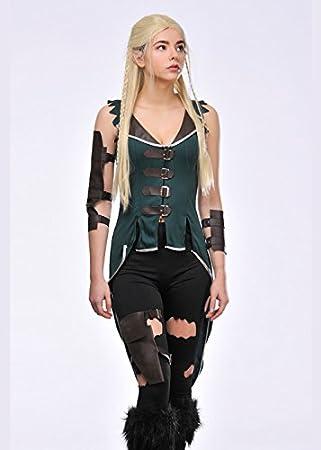 Magic Box Traje de Mujer Estilo Legolas Elfo S (UK 8-10): Amazon ...