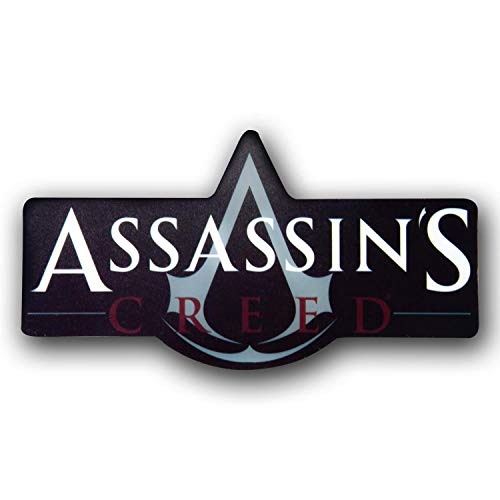 JUST FUNKY Assassin's Creed Official Magnet for Fridge, Locker, Whiteboard, etc. Gift and Great for Cars, Trucks, Fridge, or Whatever You can Stick a Magnet, 5.8