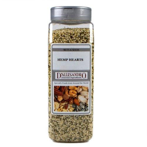 Hemp Seed Hearts - 20 oz Jar