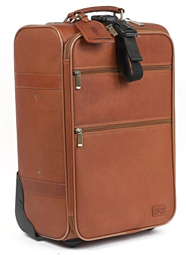 Classic Leather Carry On (Claire Chase Classic Carry-On Luggage 22