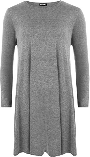 Donna Grigio Scuro Wearall Wearall Top Top wtqcR7UIR