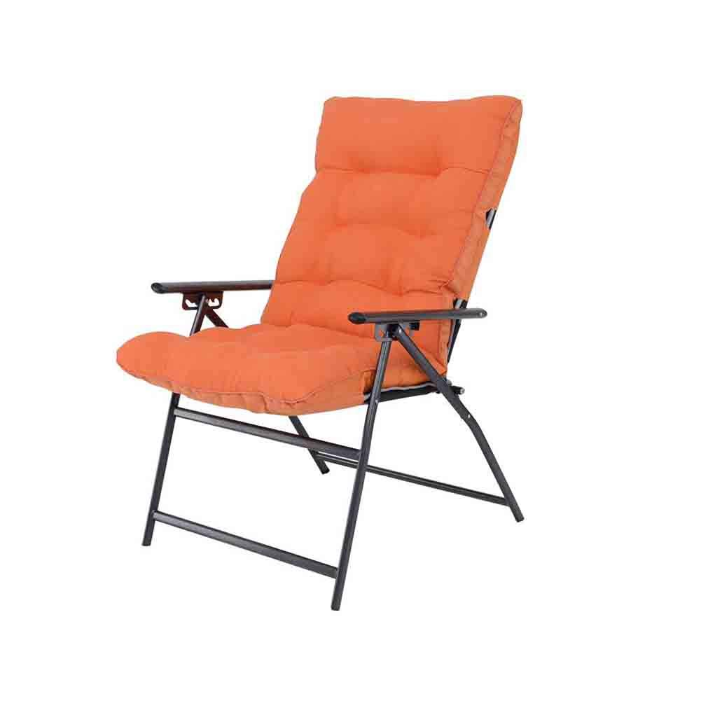 5 YCSD Folding Chair Office Lunch Break Chair Armchair Household Balcony 5 Gear-regulating Reclining & Sitting (color   1)