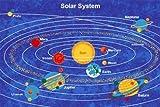 Kids Area Rug - Solar System Design (5 Ft. X 7 Ft.)