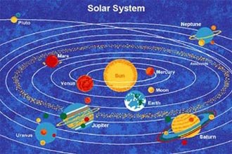 Kids Area Rug - Solar System Design (5 Ft. X 7 Ft.) by Paradise