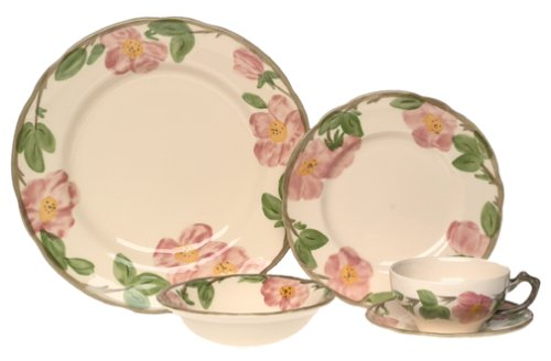 Franciscan Desert Rose 5-Piece Place Setting, Service for - Rose Desert Set