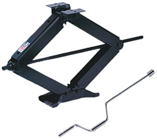 BAL R.V. Products Group 24002D  Deluxe Leveling Scissor Jack - 24-Inch (With Set of (2) 20037 crank handle with swivel head) by BAL R.V. Products Group