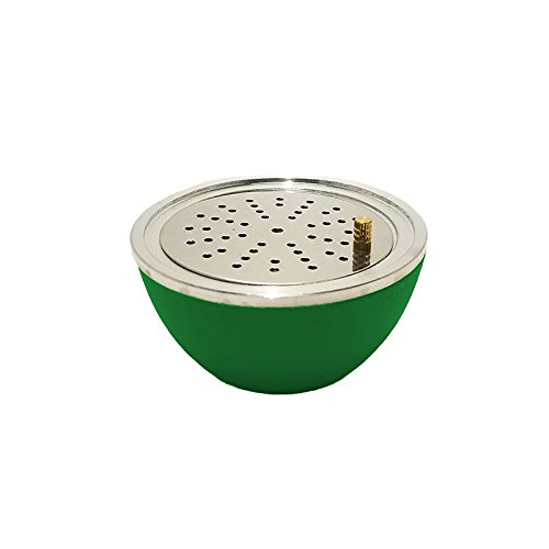 Hookah Silicone Bowl Fruit Shape With Wind Guard (Green)