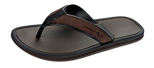 Black Flops BROWN 8 Sandals Mens Brown Rider Flip Majorca naw1qxYH