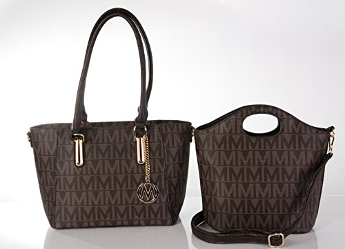 - MKF Collection Casey M Signature 2-Piece Set Tote/Crossbody Bags by Mia K Farrow