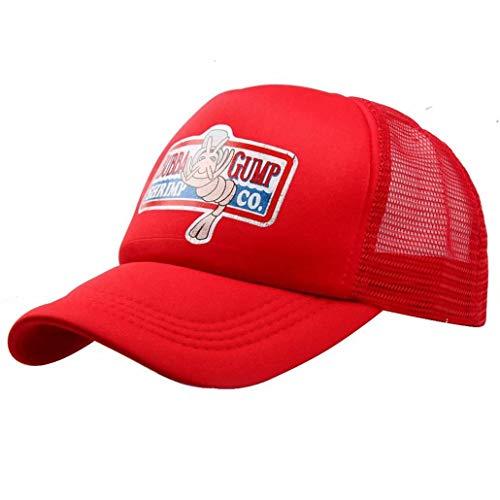Greed Land Unisex Forrestt Gump Foam Front Mesh Back Trucker Cap Snapback Hat (Forrest Gump Ost)
