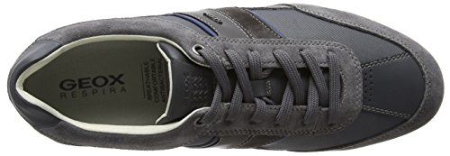 Shoes Trainers U Grey C 9 GEOX Navy Wells Mens XxOqB7P