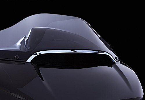 (Center Windshield Trim (Chrome) for Harley Davidson Road Glide )