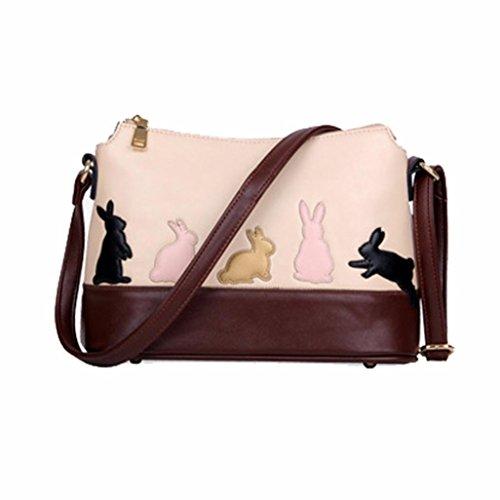 Handbag Body Messenger Purse Bag Cross Bag Bags Morwind B Cat for Women Women Leather Shoulder PwzPq7Fx