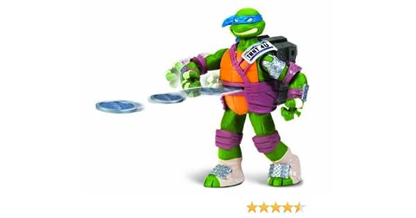 Teenage Mutant Ninja Turtles Flinger Leonardo Figura de acción