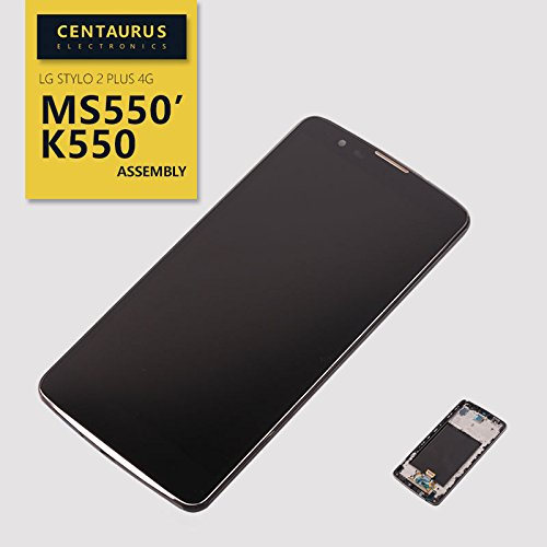 for LG Stylo 2 Plus 4G MS550 k550 k557 LCD Replacement Screen Display Touch Digitizer + Frame