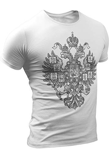- Russia Russian T-Shirts Empire Two-Headed Eagle