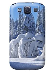 cellphone accessory-phone protective case cover + fashionable and unique New Style 3D TPU skin for Samsung Galaxy s3