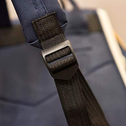Women VPASS foldable Unisex Bag Shoulder crossbody Men Backpack New Solid Zipper School Double Travel Bag Bag Pink Casual 5FXwnB