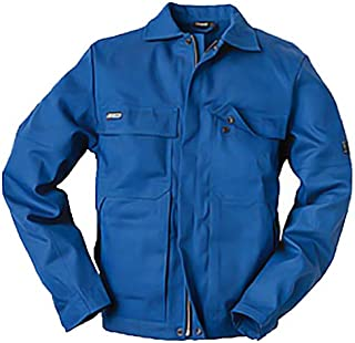 Blakläder 476415118500L Anti-Flame Jacket Size L in Cornflower Blue