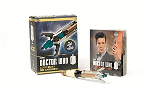 doctor who eleventh doctors sonic screwdriver kit miniature editions