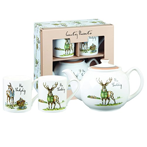 english 2 cup teapot - 5