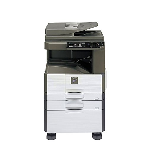 r Tabloid Mono B&W Laser Copier Printer Scanner - 26ppm, Copy, Print, Scan, 2 Trays and High Stand (Scan Copier Stand)