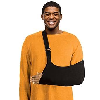 Amazon com: Ultimate Arm Sling - Average Adult, Black: Industrial