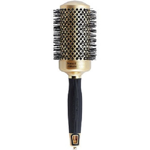 Olivia Garden NanoThermic Ceramic + Ion Hair Brush - 50th Anniversary Special Edition NT-54G (2 1/8