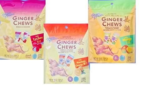 Prince of Peace Ginger Candy Variety (3 Pack)